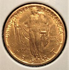 1926 Gold American Sesquicentennial $2.50 US Commemorative Coin