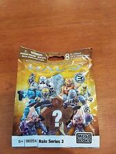 Halo Mega Bloks Series 3 mystery pack bag action figure - NEW! SEALED! - 96954
