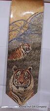 Siberian Tiger Silk Tie