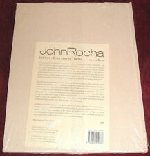 JOHN ROCHA: TEXTURE FORM PURITY DETAIL..HB NEW SEALED 2002 DESIGN BONO