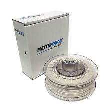 MATTEFORGE : Advanced Matte PLA 3D Printer Filament - 1.75mm WHITE (1KG)