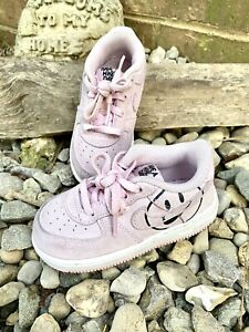 Nike Air Force 1 LV8 Toddler Size 8 Pink Low Have A Nike Day Shoes BQ8274-600