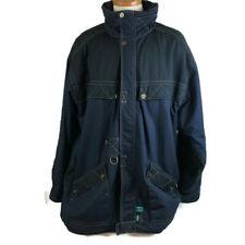 VTG Rip Curl Men Coat Size Large Blue Celtech Insulation Waterproof Hood Flawed