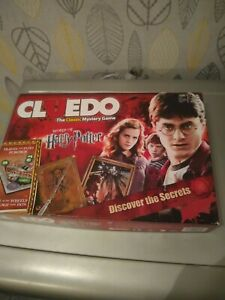 Cluedo World Of Harry Potter Board Game  Hasbro 2016 , 1 card missing