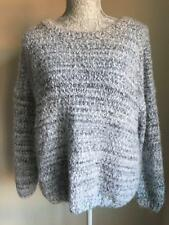 Atmosphere Womens Navy Mix Fluffy Jumper Size 14 (17)