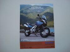 advertising Pubblicità 2004 MOTO SUZUKI V-STROM VSTROM 650