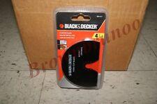 """Black Decker 4"""" Flush Cut Saw Blade for Drywall Wood BDA1217 New"""