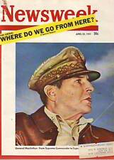 1951 Newsweek April 23-MacArthur is Fired;Mary Garden;