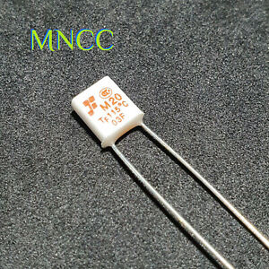 1pc x Motor Thermal Protector M20 TF 115°C N/C Thermal Fuse 250V 2A 115 Degrees