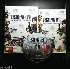 Resident Evil The Darkside Chronicles (Nintendo Wii, 2009) Wii Game - PAL