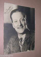 1932. SIGNED AUTOGRAPHED PHOTOGRAPH GEORGE DOONAN. MUSIC HALL VARIETY COMEDIAN