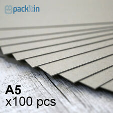 A5 Backing Boards - 100 sheets 700gsm - chipboard boxboard cardboard recycled