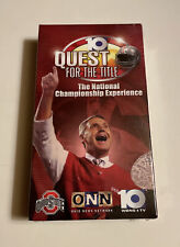 10 Quest For The Title The National Championship Experience VHS (OSU Highlights)