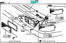 TOYOTA 81520-80038 Front Turn Signal Lamp ASSY LH Genuine SPRINTER TRUENO