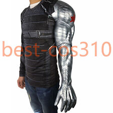 Captain America3 Civil War Cosplay Winter Soldier Bucky Barnes Armor Arm For Man