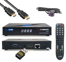 Octagon SX888 4K UHD Linux OS H.265 HDMI USB TV IP Receiver mit WLAN Stick