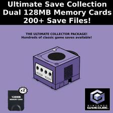 Ultimate Save Collection   200+ Saves   100% Complete   GameCube Memory Cards