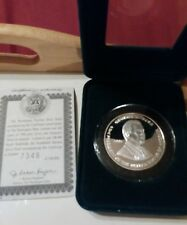 2001 Presidential Election 1 Ounce Silver Proof