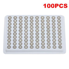 100 Pcs Sr626sw Ag4 377 Lr626 1.55v Alkaline Button Cell Watch Batteries Battery