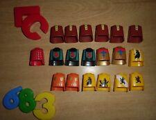 LOTE PLAYMOBIL CUERPOS,LOTE 683, ORGANES Playmobil, Organismes Playmobil, pièces