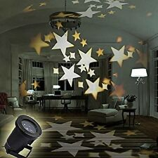 Star Moving LED Landscape Projection Light for Wedding Christmas Party Euro