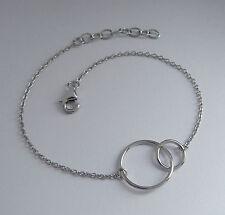 925er Silber filigranes Armband rhodiniert Ringe K951