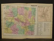 New York, Ontario County Map, 1874, Phelps Township, Double Page, Y3#75