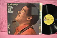 LOUISIANA RED – SINGS THE BLUES Orig Atco SD 33-389 '72 LP US BLUES ROCK EX