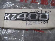 KAWASAKI NOS SIDE PANEL EMBLEM  KZ400 1977-78   56018-267