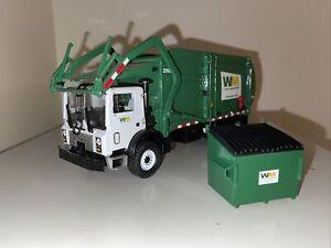 First Gear Mack MR Wittke Front Load Refuse Truck Bin Waste Management 19-2924