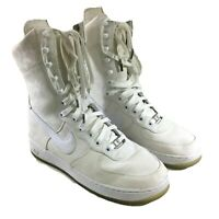 Nike Air Force 1 Womens White High Top Sneakers Shoes 315187-111  2006 Sz US 9.5