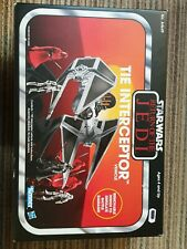 star wars the vintage collection tie interceptor Very Good Condition.