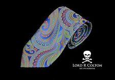 Lord R Colton Masterworks Tie - Bolzano Sistine Tapestry Paisley Necktie - New