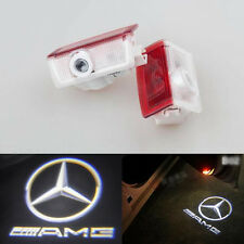 2x LED Door Courtesy Laser Light Mercedes-Benz W212 E320 E350 E63 E550 AMG LOGO