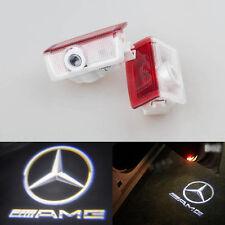 2x LED Door Courtesy Laser Light Mercedes-Benz W212 E320 E350 E63 E550 AMG LOGO