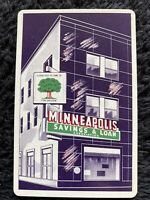 Vtg Redi-Slip Remembrance Minneapolis Savings & Loan Playing Cards