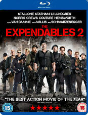 THE EXPENDABLES 2 - BLU-RAY - REGION B UK