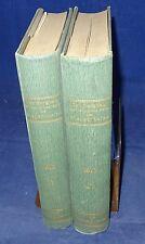 Der Bergbau auf der linken Seite des Niederrheins 1910 2 Bände ( I+II / III+IV )
