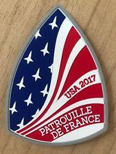 Patch Gomme PATROUILLE DE FRANCE US Tour 2017