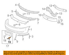 GM OEM Front Bumper-License Bracket Rivet 22638717