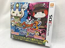Nintendo 3DS Japan Yokai Watch 3 SUSHI TEMPURA Busters T Pack Tracking FromJapan