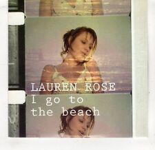 (GV56) Lauren Rose, I Go To The beach - 2007 DJ CD