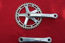 Sugino 75 Track Crank set w/ Sugino 44t chainring- 165mm, Square Taper