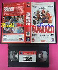 VHS film PAPARAZZI De Sica Abatantuono Boldi D'angelo 1998 FILMAURO (F55)*no*dvd