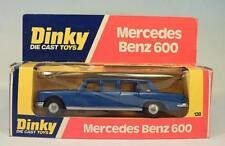 DINKY TOYS 128 Mercedes Benz 600 blaumetallic dans O-Box #3956