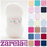 Sirdar Snuggly ******4 Ply****** Knitting Wool/Yarn - 50g - ***ALL COLOURS***