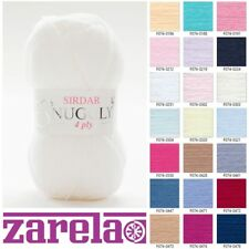 Sirdar Snuggly 4 Ply Knitting Wool/Yarn - 50g - All Colours