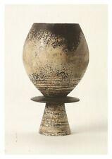 Postcard Hans Coper Goblet Form on Horizontal Disc Barbican Gallery MINT Unused