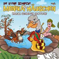 DIE KLEINE SCHNECKE MONIKA HÄUSCHEN - 45: WARUM SCHIMPFEN SPATZEN?   CD NEW