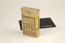 S.T. Dupont Cuba Libre Prestige Feuerzeug Gold L2 Lighter Limited Edition 288